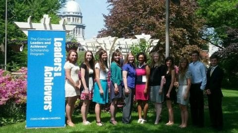 Comcast Names 2014 Central Illinois Leaders and Achievers Scholarship Recipients