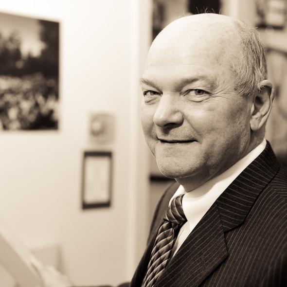Elgin Mayor Dave Kaptain