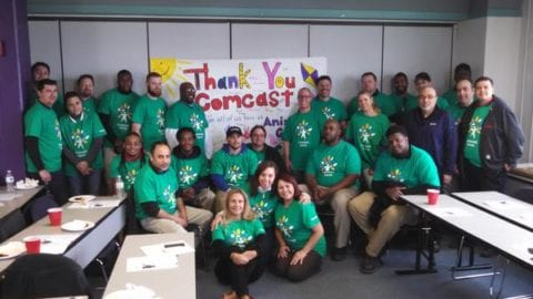 Comcast Cares Day Includes more than 80 Volunteer Projects Spanning Illinois, NW Indiana and SW Michigan