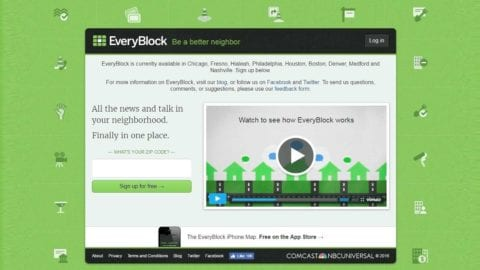 EveryBlock Expands to Lisle and Naperville, IL