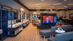 Lakeview Xfinity Store Interior