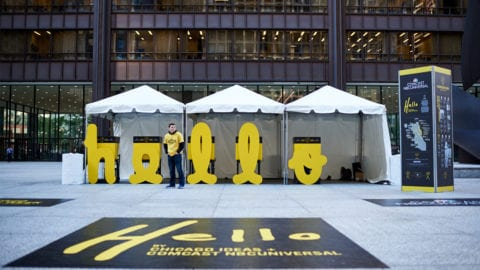 "Chicago Ideas Week Launches ""Hello"" in Partnership with Comcast NBCUniversal"