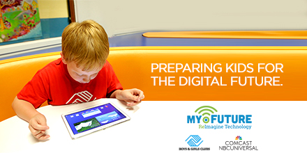 Boys & Girls Club of America and Comcast NBCUniversal Announce Major Partnership and the Launch of the My.Future Technology Initiative in Chicago