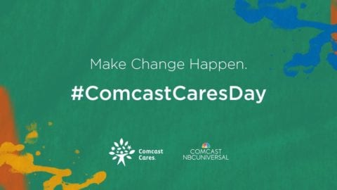 15th Annual Comcast Cares Day set for Saturday, April 30