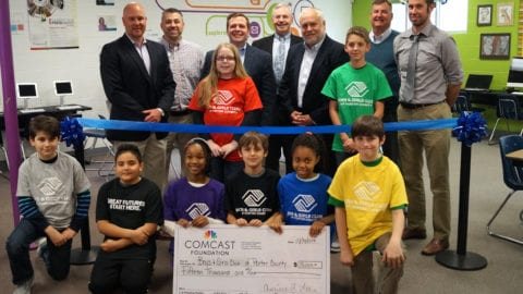 Boys & Girls Clubs of Porter County Partners with Comcast to Promote Digital Literacy