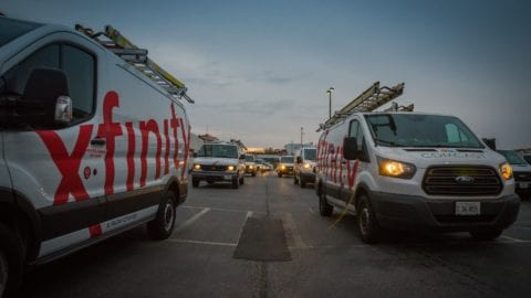Comcast Sends Third Wave of Techs to Florida to help Optimize Network Following Extensive Damage caused by Hurricane Irma