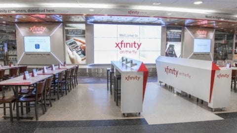 """Xfinity On the Fly"" Takes Off at Chicago's O'Hare International Airport"