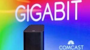 Comcast is Nation's Number One Provider of Gigabit Internet Service