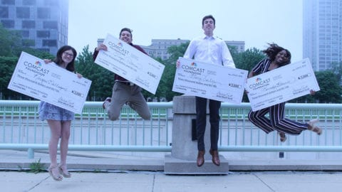 Winners of the Leaders and Achievers® Program scholarships.
